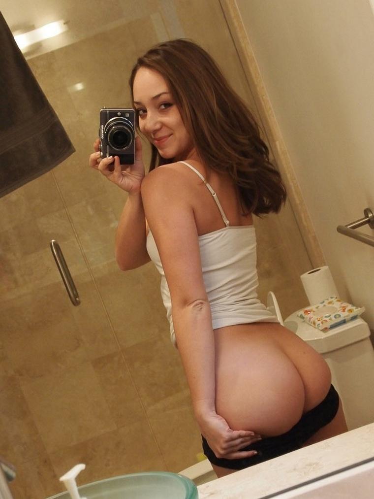 beau cul selfie