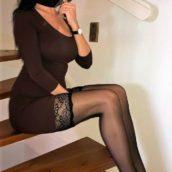 jolie femme russe en collants sexy