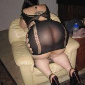 gros cul en lingerie sexy