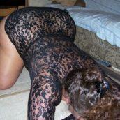 salope mature cougar à prendre en levrette lingerie fine et sexy