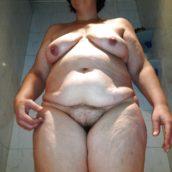 corps de femme mature moche