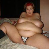 femme obèse a niquer