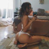 selfie bon cul en photo