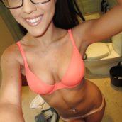 photos coquine brunette