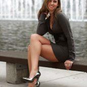 belles jambes de femme mature
