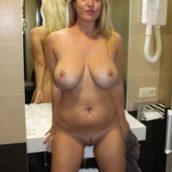 femme mature nue gros seins chatte lisse