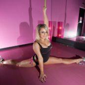 experte en pole dance