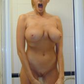 cougar sous la douche