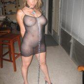 BDSM femme mature soumise