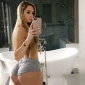selfie minis-hort gros cul